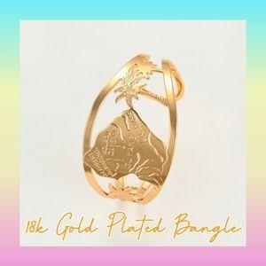 18k Gold Plated Bangle